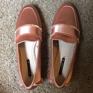 Zara loafers NEVER WORN